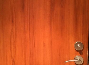 Faux Woodgraining Detail