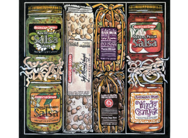 American Spoon Foods Catalog Illustration – Gouache and Ink