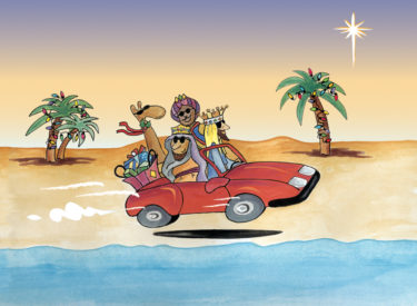 Corporate Christmas Card Design + Illustration